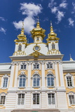 External View of Peterhof, Peter the Great's Palace, St. Petersburg, Russia, Europe Photographic Print by Michael Nolan