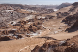 Overview of Moon Valley, Atacama Desert, San Pedro, Chile, South America Reproduction photographique par Kimberly Walker
