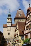Markus Tower and Roder Arch, Rothenburg Ob Der Tauber, Romantic Road Photographic Print by Robert Harding