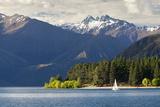 Sailing on Lake Wanaka, Wanaka, Otago, South Island, New Zealand, Pacific Photographic Print by Stuart Black