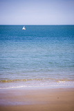 Sailing Boat, Seen from Swanage Beach, Dorset, England, United Kingdom, Europe Fotografisk trykk av Matthew Williams-Ellis