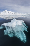 Glacial Ice Floating in the Neumayer Channel Near Wiencke Island, Antarctica, Polar Regions Fotografisk tryk af Michael Nolan