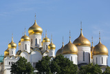 Cathedral of the Annunciation in the Kremlin, UNESCO World Heritage Site, Moscow, Russia, Europe Impressão fotográfica por Martin Child