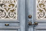 Door Detail in the Town of Visby, Gotland Island, Sweden, Scandinavia, Europe Photographic Print by Michael Nolan
