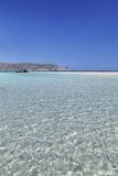Elafonisi Beach, West Coast, Natural Park, Red Sand, Crete, Greek Islands, Greece, Europe Fotografisk tryk af Markus Lange