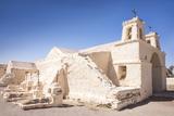 Chile's Oldest Church, Chiu-Chiu Village, Atacama Desert in Northern Chile, South America Reproduction photographique par Kimberly Walker