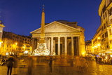 Piazza Della Rotonda and the Pantheon, Rome, Lazio, Italy, Europe Fotografisk tryk af Julian Elliott