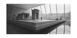 Temple Of Dendor Panorama 2 - Metropolitan Museum Of Art Photographic Print by Henri Silberman