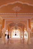 Hall of Public Audience (Diwan-E-Khas), City Palace, Jaipur, Rajasthan, India, Asia Reproduction photographique par Peter Barritt