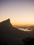 View from Chinese Vista at Dawn, Rio De Janeiro, Brazil, South America Fotografisk tryk af Ben Pipe