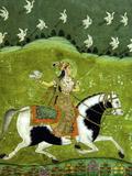 Sultan Razia of Delhi, 18th Century, Archaeological Museum, Red Fort, Delhi, India, Asia Reproduction photographique par Peter Barritt