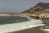 Lake Assal, 151M Below Sea Level, Djibouti, Africa Fotografisk tryk af Tony Waltham