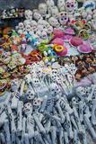 Dia De Los Muertos (Day of the Dead) Souvenirs, San Miguel De Allende, Guanajuato Fotografisk tryk af Ben Pipe