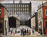Street Scene (Pendlebury) Giclee-trykk av Laurence Stephen Lowry