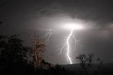 Blitze Fotografie-Druck von Photos by Dennis Quago