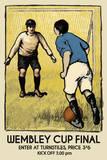 Wembley Cup Final Reproduction procédé giclée par  The Vintage Collection