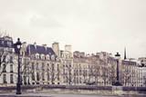 Les Maisons Giclee Print by Irene Suchocki