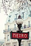 Le Metro Giclee Print by Irene Suchocki