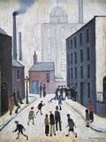 Industrial Scene, 1953 Giclee-trykk av Laurence Stephen Lowry
