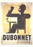 Dubonnet Reproduction pour collectionneur par Adolphe Mouron Cassandre