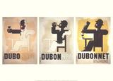 Dubo-Dubonnet Samletrykk av Adolphe Mouron Cassandre