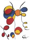 Spirales Poster av Alexander Calder