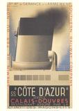 Cote d'Azur Sammlerdrucke von Adolphe Mouron Cassandre