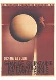 Lawn Tennis Samletrykk av Adolphe Mouron Cassandre