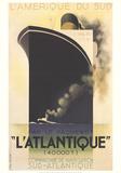 L'Atlantique Sammlerdrucke von Adolphe Mouron Cassandre