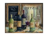 Paris Wine Tasting Affiches par Marilyn Dunlap