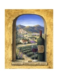 Wine and Lavender II Affiches par Marilyn Dunlap