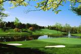 Golf Course, Congressional Country Club, Potomac, Montgomery County, Maryland, USA Lámina fotográfica por Green Light Collection