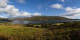 Lough Mask, at Clogh Brack Upper, (An Chloch Bhreac), Joyce's County, Connemara, County Galway Lámina fotográfica por Panoramic Images,