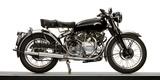 Close-Up of a 1954 Vincent 998Cc Series-C Rapide Motorcycle Reproduction photographique