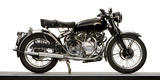 Close-Up of a 1954 Vincent 998Cc Series-C Rapide Motorcycle Bedruckte aufgespannte Leinwand