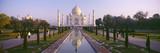 Reflection of a Mausoleum on Water, Taj Mahal, Agra, Uttar Pradesh, India Reproduction photographique par  Panoramic Images