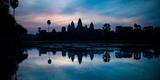 Temple at the Lakeside, Angkor Wat, Angkor Thom, Siem Reap, Angkor, Cambodia Reproduction photographique par Green Light Collection