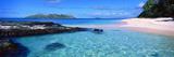 Island in the Sea, Veidomoni Beach, Mamanuca Islands, Fiji Reproduction photographique