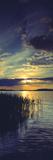 Reflection of Clouds in a Lake, Lake Saimaa, Joutseno, Finland Photographic Print