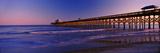 Pier in the Ocean, Folly Beach Fishing Pier, Folly Beach, Folly Island, Charleston County Fotografie-Druck von  Panoramic Images