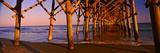Pier over the Ocean, Folly Beach Fishing Pier, Folly Beach, Folly Island, Charleston County Fotografie-Druck von  Panoramic Images