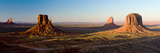 Cliffs on a Landscape, Monument Valley, Monument Valley Tribal Park, Utah, USA Photographic Print by  Panoramic Images