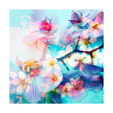 Rainbow Orchids V Prints by Alaya Gadeh