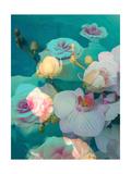 Water Orchids Kunstdrucke von Alaya Gadeh