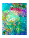 Rainbow Flowers Kunstdruck von Alaya Gadeh