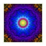 Crown & Third Eye Mandala Prints by Alaya Gadeh