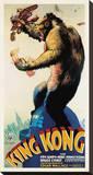 King Kong Bedruckte aufgespannte Leinwand