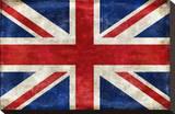 Storbritannien Opspændt lærredstryk af Luke Wilson
