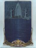 Watcher at the Gate (The Fellowship before the gate of Moria) Kunstdruck von Steve Hickman