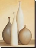 Luminoso I Reproducción de lámina sobre lienzo por Arlene Stevens